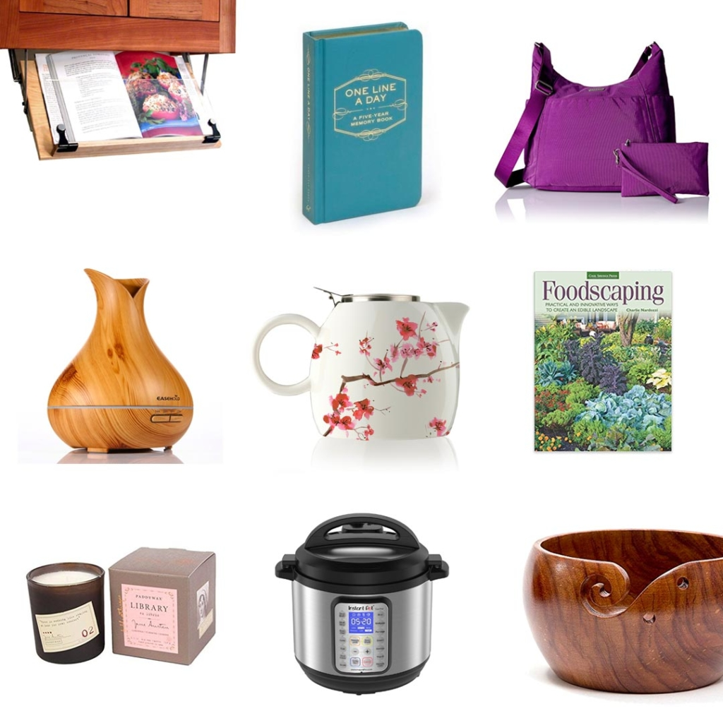 Mother's Day Gift Guide 2018 collage of mother's day gifts