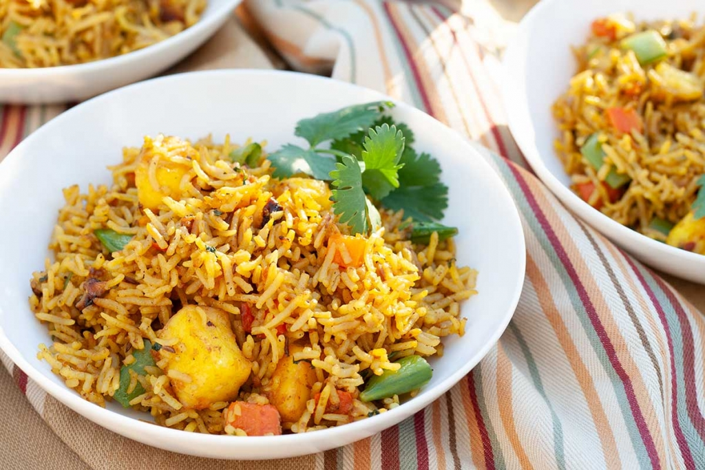 Instant Pot Paneer Biryani Recipe