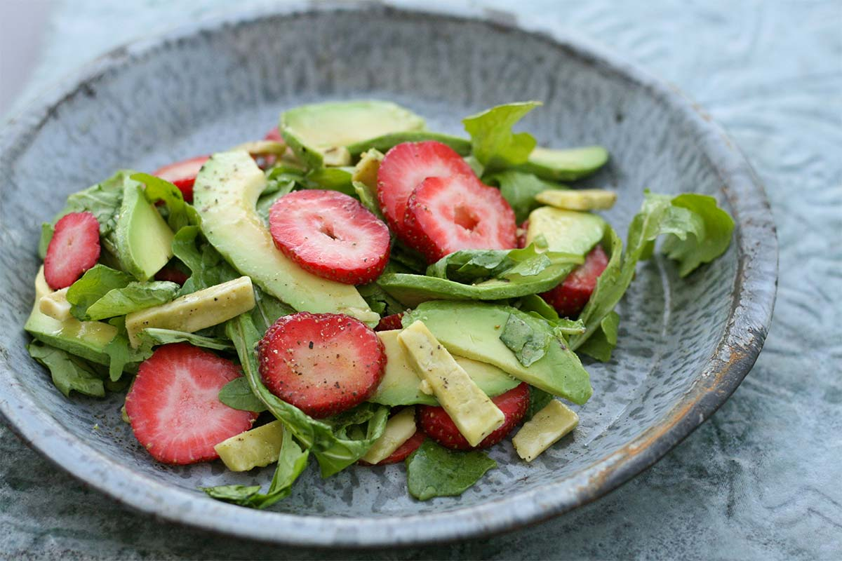 Strawberry Sage Derby Salad