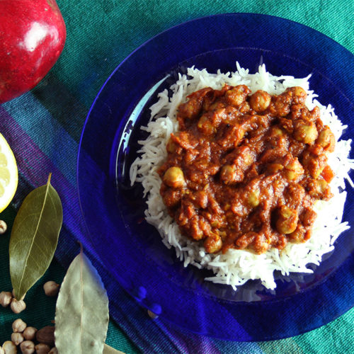 Crock Pot Channa Masala
