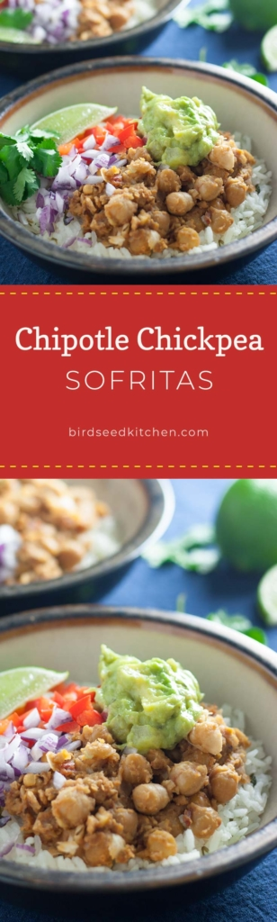 Chipotle Chickpea Sofritas