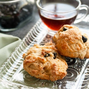 Blueberry Lemongrass Scones