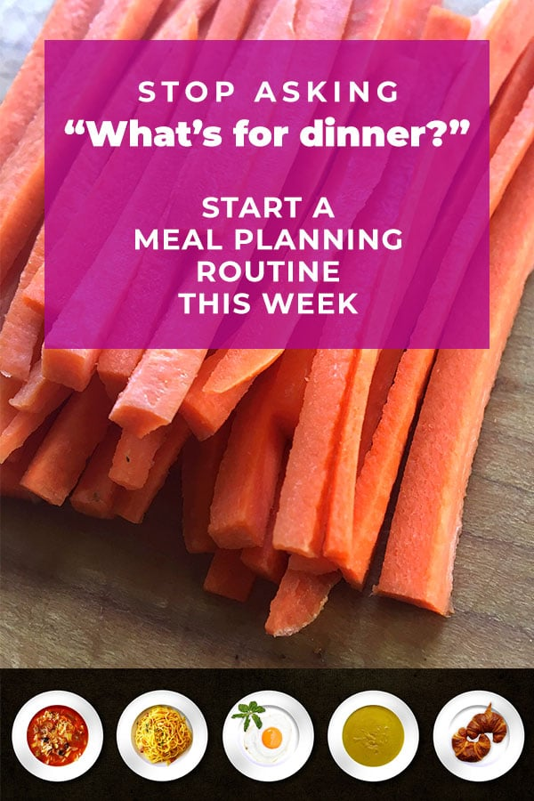 stop asking what's for dinner - meal planning and meal prep