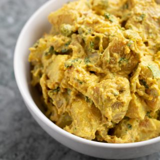 Samosa Potato Salad