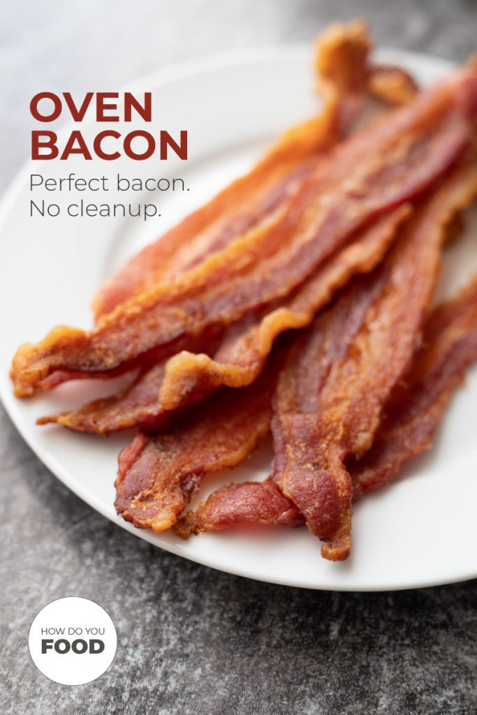 oven bacon - the best way to cook bacon with no cleanup
